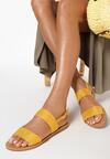 Żółte Sandały Gale