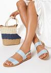 Jasnoniebieskie Sandały Winnie