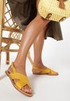 Żółte Sandały Canter