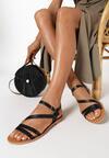 Czarne Sandały Myssa