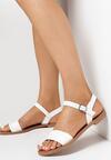 Białe Sandały Halilis