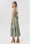 Jasnozielona Sukienka Mayashell
