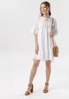 Biała Sukienka Aedenah