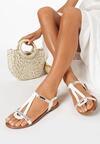 Białe Sandały Talimala