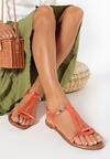 Pomarańczowe Sandały Talimala