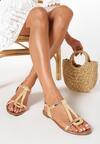 Beżowe Sandały Talimala