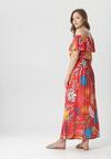 Czerwona Sukienka Calynilla