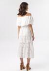 Biała Sukienka Brithia