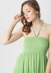 Jasnozielona Sukienka Kyvianna