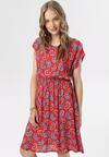 Czerwona Sukienka Tereanes