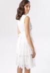 Biała Sukienka Calyleora