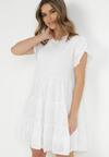 Biała Sukienka Kahlirelia