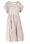 Jasnobeżowa Sukienka Maileora
