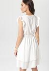Biała Sukienka Ermenegilda