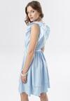 Jasnoniebieska Sukienka Ermenegilda