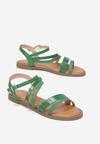 Zielone Sandały Coraelia
