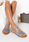 Niebieskie Sandały Coraelia