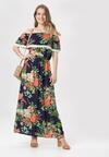 Granatowa Sukienka Aglaris