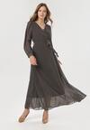 Czarno-Brązowa Sukienka Doryrianne