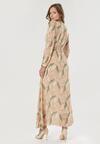 Beżowa Sukienka Doryrianne