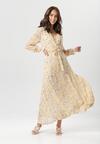 Jasnożółta Sukienka Doryrianne