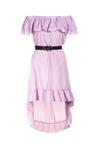 Fioletowa Sukienka Physamellia