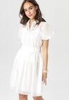Biała Sukienka Jenylia
