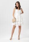 Biała Sukienka Auralena
