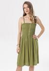 Zielona Sukienka Mirassa