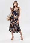Granatowa Sukienka Carlyn