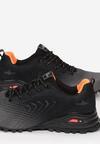 Czarno-Pomarańczowe Buty Sportowe Lorairial