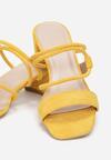 Żółte Klapki Elidone