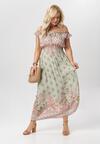 Jasnozielona Sukienka Asteoliria