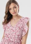 Różowa Sukienka Arrielia