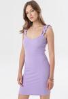 Fioletowa Sukienka Zhasura