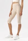 Jasnobeżowe Spodnie Evameine