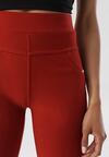 Bordowe Spodnie Evameine