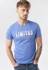 Niebieska Koszulka Fontada