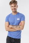 Niebieska Koszulka Kailyn