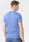 Niebieska Koszulka Aqialyn