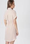 Jasnobeżowa Sukienka Talosura
