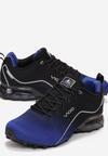 Niebiesko-Czarne Buty Sportowe Alcidise