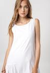 Biała Sukienka Zeliphaeia