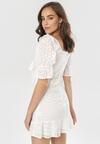 Biała Sukienka Aquivia
