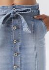 Niebieska Spódnica Asitai