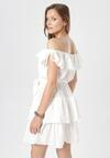 Biała Sukienka Neritina