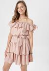 Różowa Sukienka Neritina