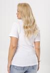 Biały T-shirt Ephesine