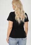 Czarny T-shirt Ephesine