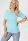 Niebieski T-shirt Ephesine